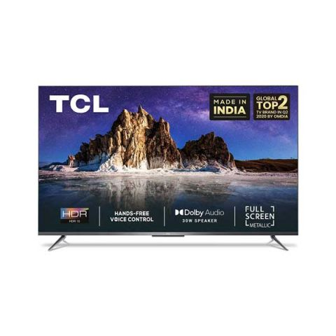 TCL(50 inches)AI 4KUltra HD Certified Android Smart LEDTV 50P715